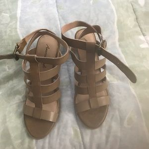 American Eagle by Payless strapping sandals